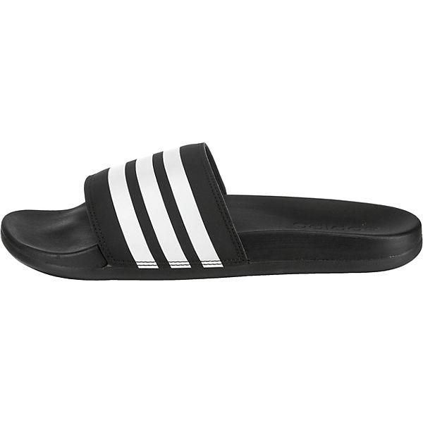 COMFORT ADILETTE adidas schwarz Performance Badeschuhe 5EzE1O7q