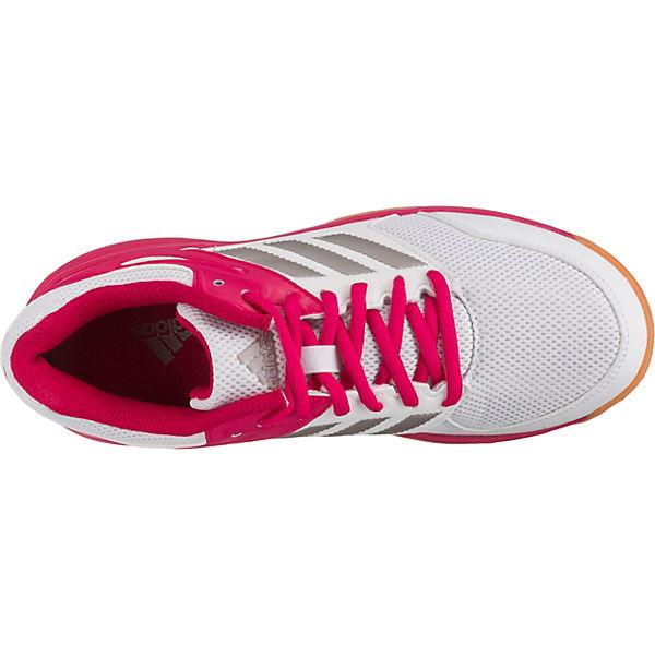 Speedcourt adidas Hallenschuhe W Performance weiß nUw4YTqfw5