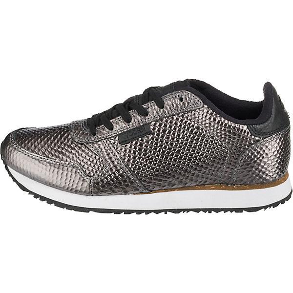 Sneakers WODEN Low Ydun grau Metallic 1TqqfnRUxE