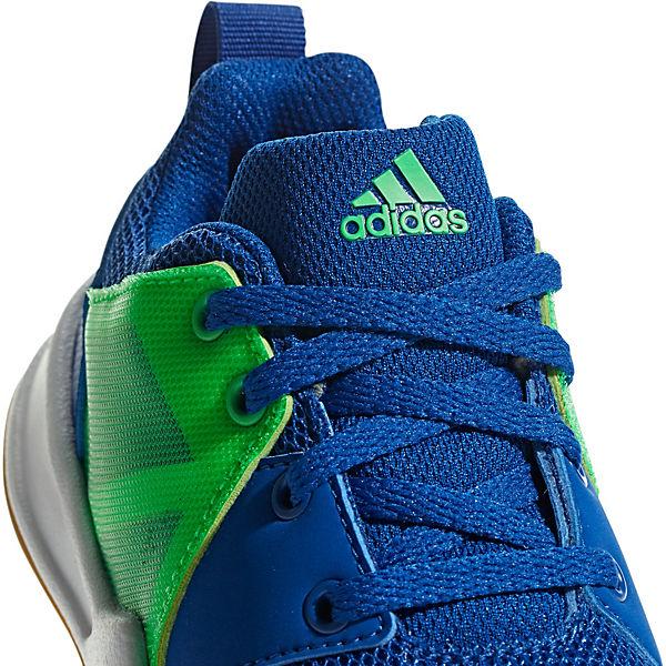 für K adidas Performance blau Jungen FORTAGYM Sportschuhe 1wwvqF0