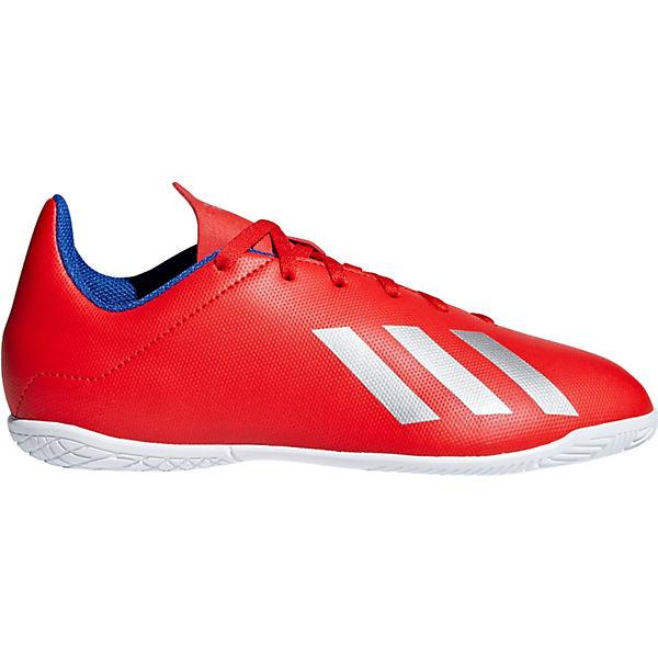 Performance für rot Jungen 18 J Fussballschuhe IN adidas X 4 dp0gdx
