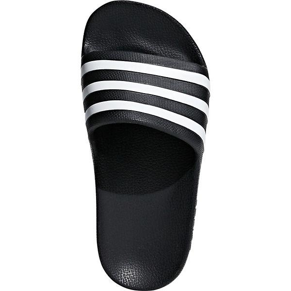 Kinder Performance adidas AQUA schwarz Badelatschen ADILETTE HZ5wq6