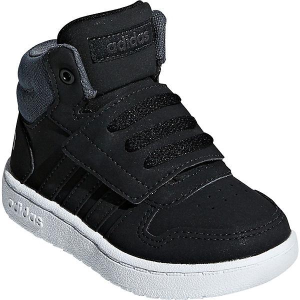 Inspired High adidas 2 HOOPS MID Sneakers Sport schwarz Baby 0 H5aSnRIa