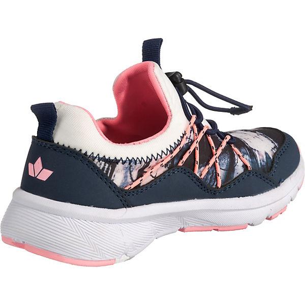 für blau Mädchen LICO Low weiß Sneakers Chris TOwwnpxtgq