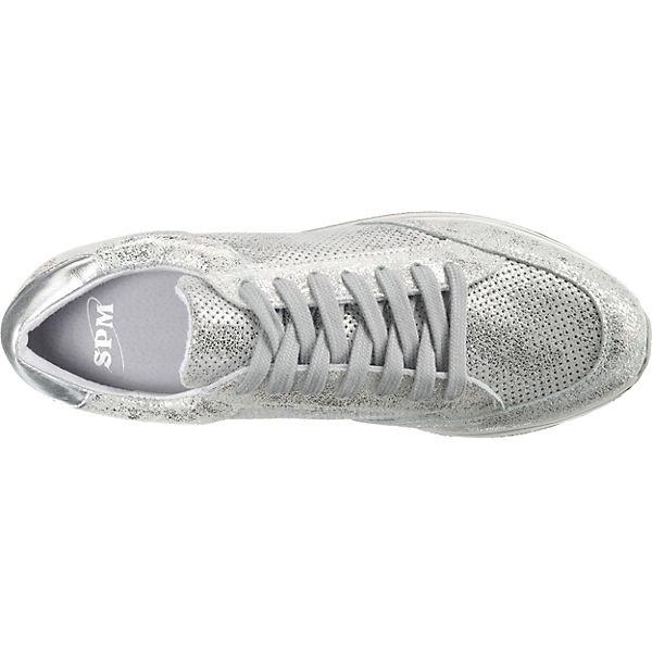SPM Leanrun SPM silber Sneakers Sneakers Low Low silber Leanrun pEP7ggWFc