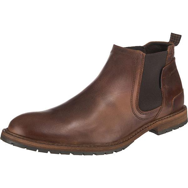 Boots Chelsea Leder cognac Paul Vesterbro Sw14xqtx
