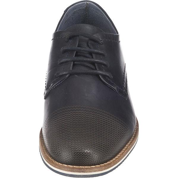 Schnürschuhe dunkelblau Leder Vesterbro Business Paul ZwB8nqOpx