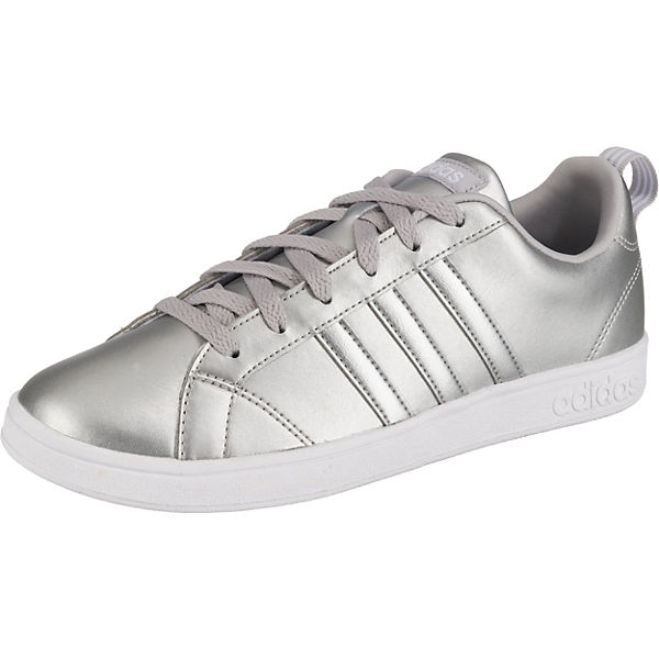 silber Low Sneakers Sport VS Inspired adidas Advantage 4wSpYPqx