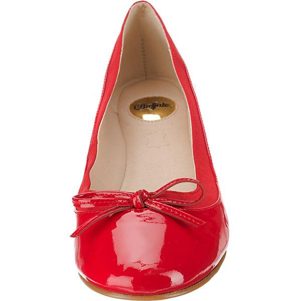 BUFFALO Annelie Klassische Ballerinas rot
