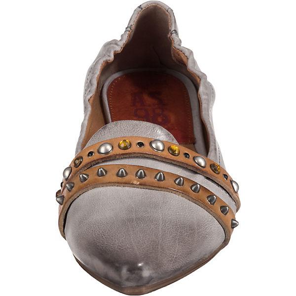 S A 98 Klassische grau Ballerinas UqTdRwT
