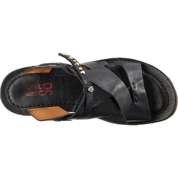 schwarz A A schwarz S Pantoletten S S Pantoletten A 98 98 SqCwx5gf