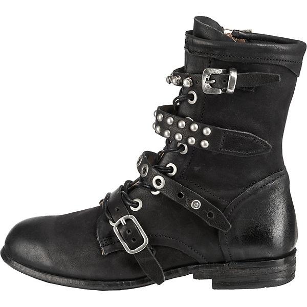 schwarz Boots S 98 Biker A wWqSX7Pn