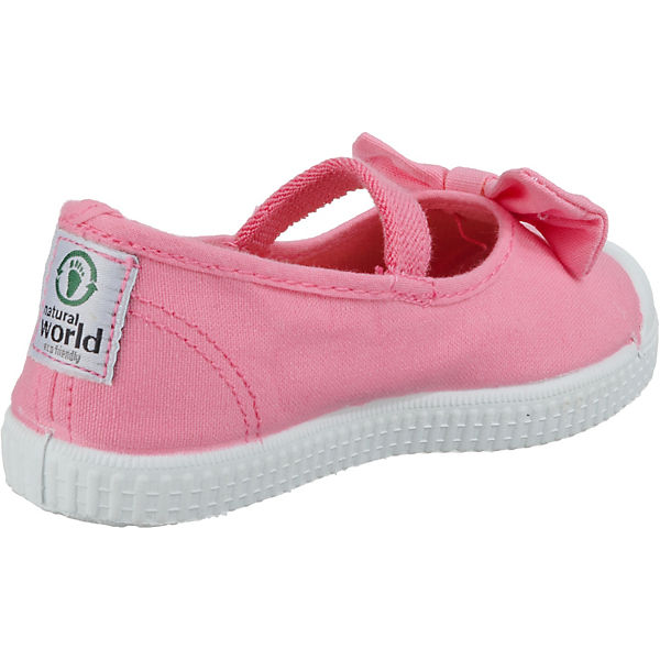 natural pink Kinder world natural Ballerinas world Yz5Hx