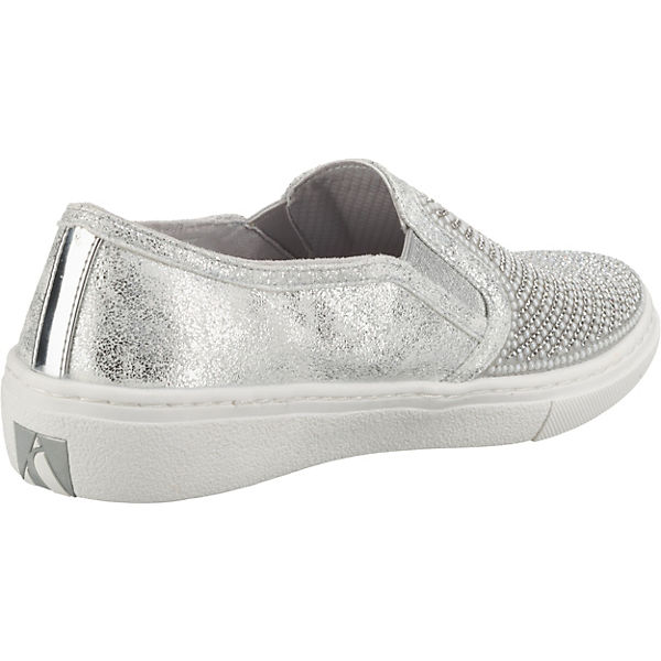 84c24ec4a733a7 WISHES Klassische Slipper GOLDIE DIAMOND silber SKECHERS XpqxCgAwnU
