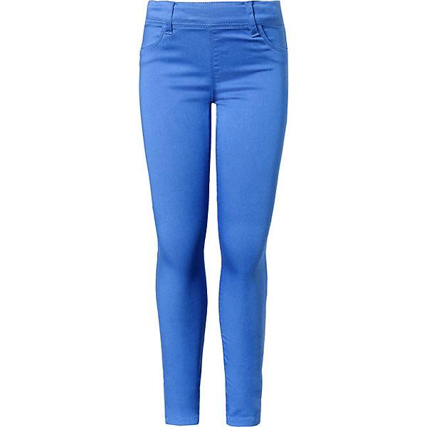 Mädchen it für NKFPOLLY name blau Leggings xqIOdaPw