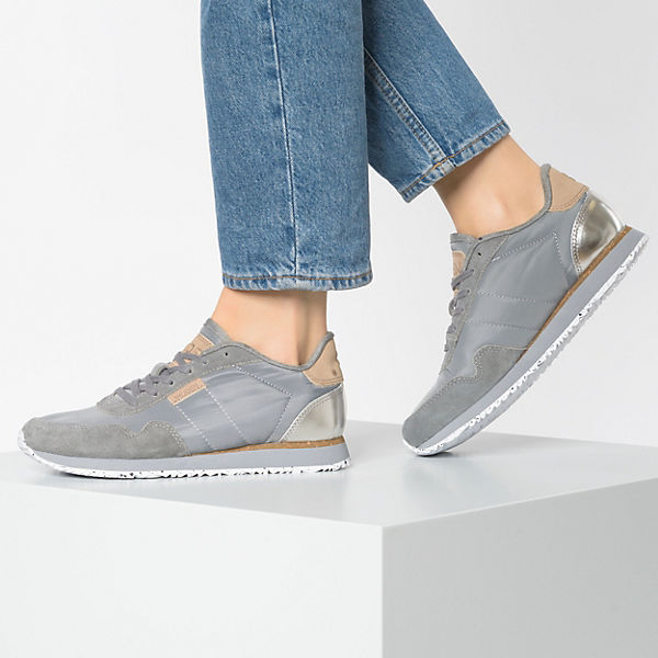 Nora dunkelgrau Sneakers ll WODEN Low 40qBn0xv