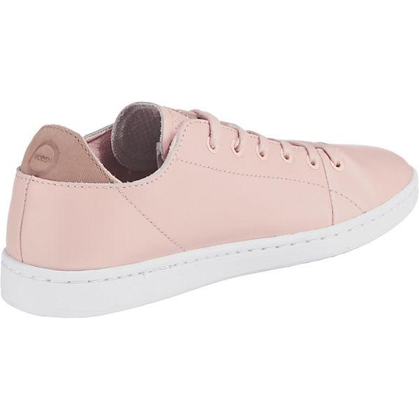 WODEN Jane Sneakers Leather Low rosa 6gT6w