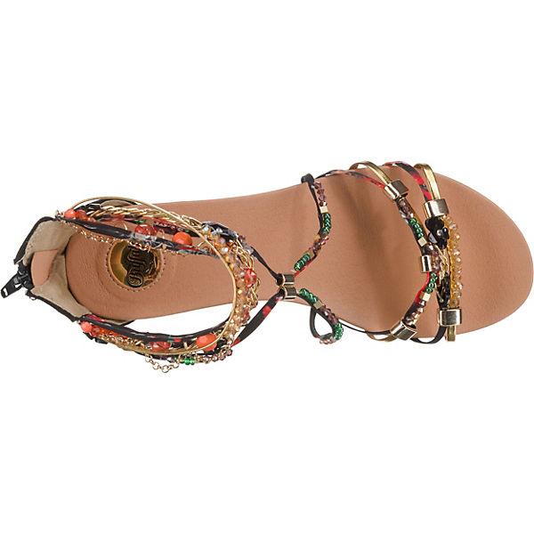 BUFFALO Elora Klassische Sandalen schwarz-kombi