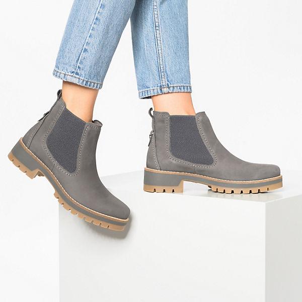 camel active Diamond Chelsea Boots grau