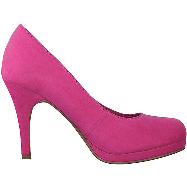 Tamaris Plateau-Pumps pink