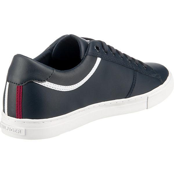 TOMMY HILFIGER ESSENTIAL LEATHER SNEAKER Sneakers Low dunkelblau