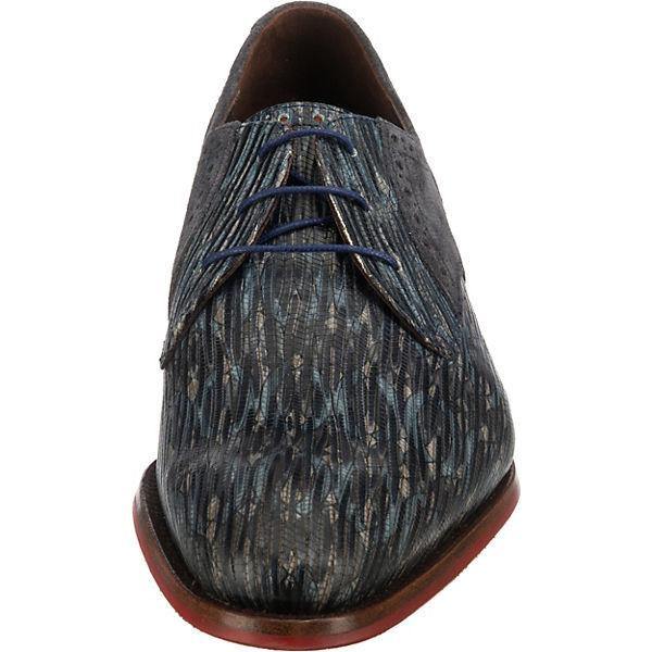 Floris van Bommel Business Schuhe grau-kombi