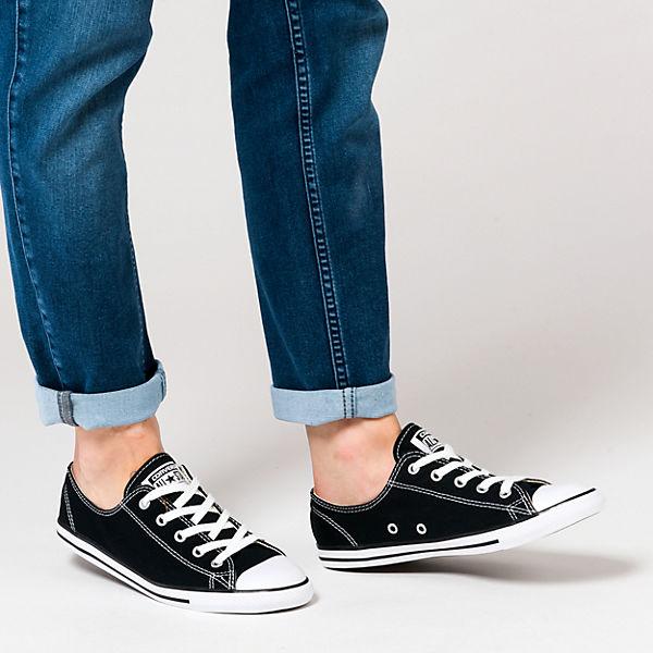 Chuck Taylor All Star Dainty Ox Sneakers schwarz