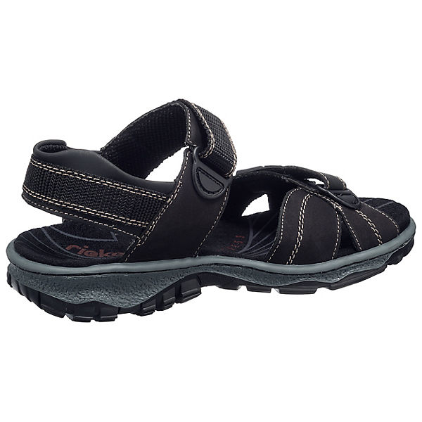 rieker Sandalen schwarz