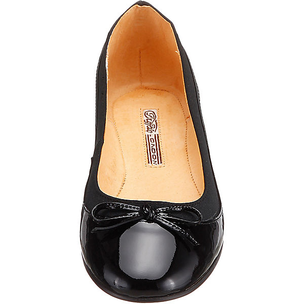 BUFFALO Ballerinas schwarz