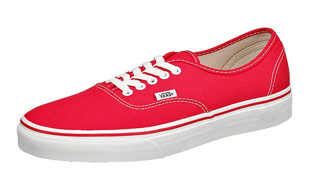 vans authentic sneakers rot mirapodo. Black Bedroom Furniture Sets. Home Design Ideas