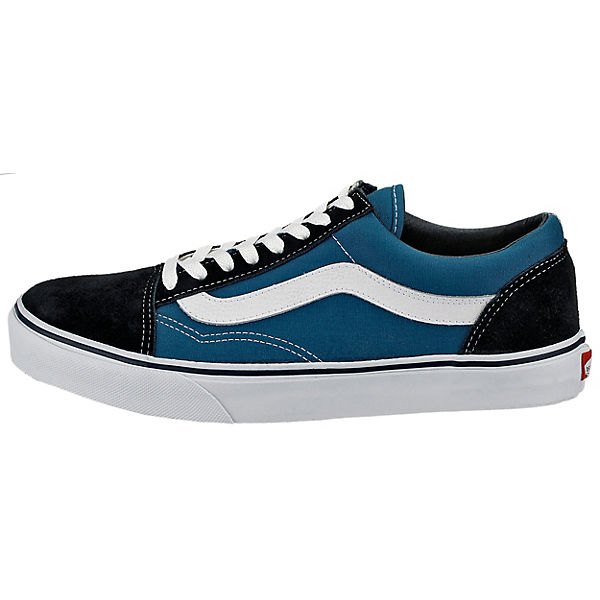 Low blau Sneakers UA Skool Old VANS wI1CxAqq