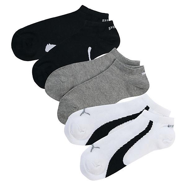 puma 3 paar sneaker socken mehrfarbig textil mirapodo. Black Bedroom Furniture Sets. Home Design Ideas