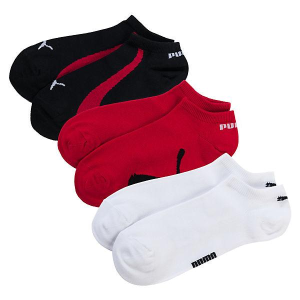 3 Paar Sneaker Socken mehrfarbig