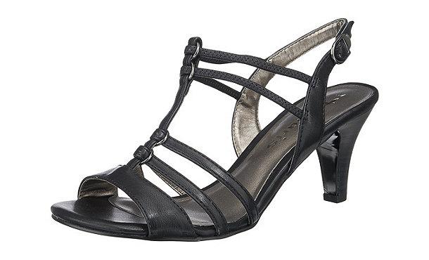 tamaris sandaletten schwarz im shop von mirapodo mirapodo. Black Bedroom Furniture Sets. Home Design Ideas