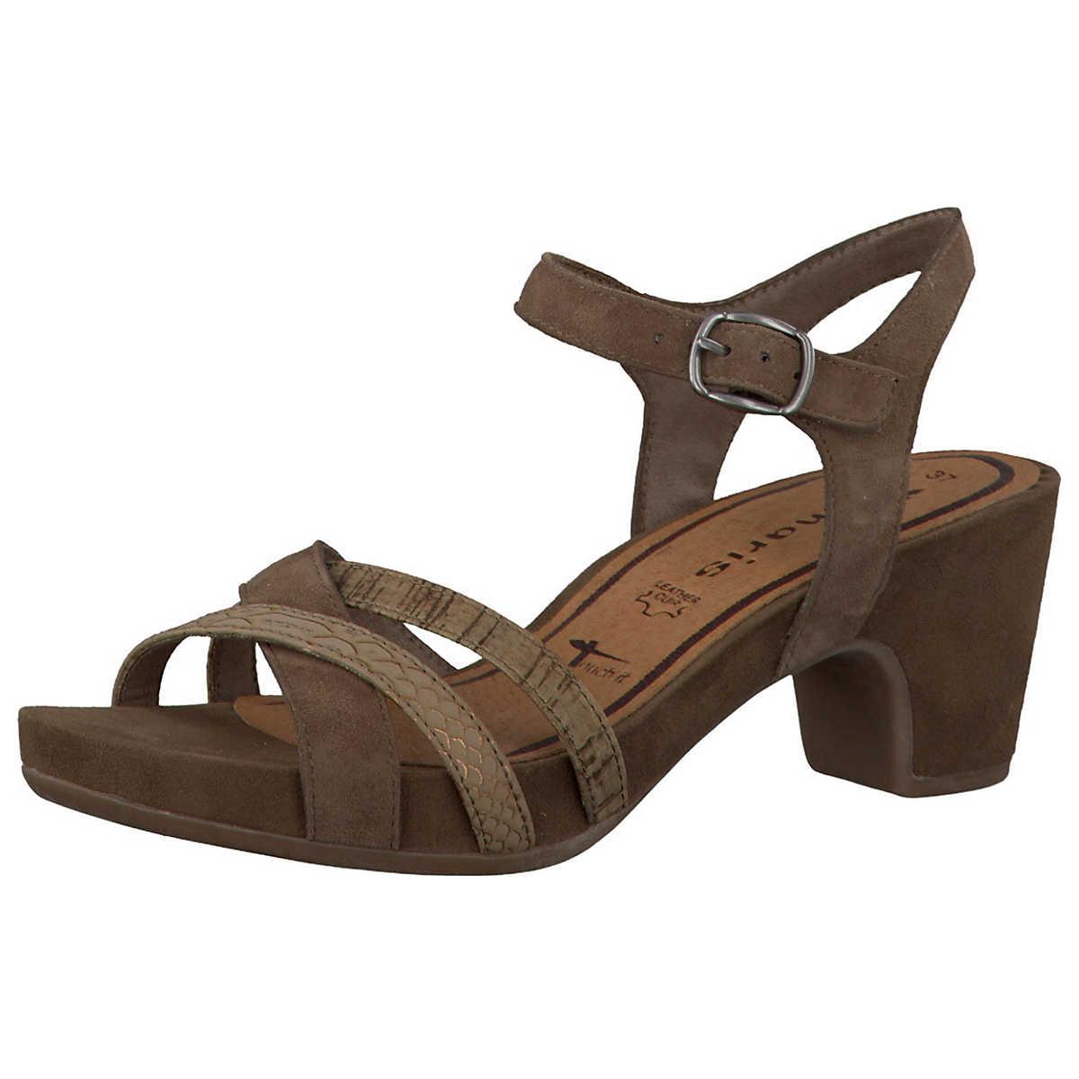 tamaris jule sandaletten braun 3860819 bei guenstige. Black Bedroom Furniture Sets. Home Design Ideas