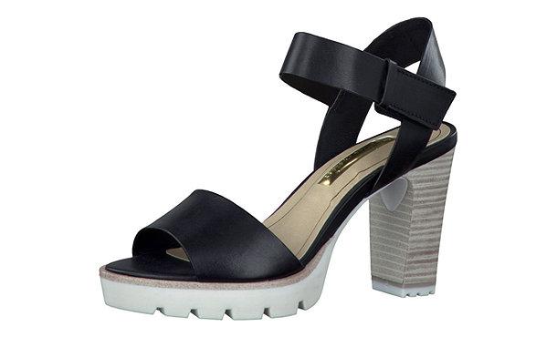 tamaris cleat sandaletten schwarz im shop von mirapodo mirapodo. Black Bedroom Furniture Sets. Home Design Ideas