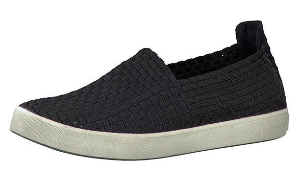 tamaris conch slipper schwarz im shop von mirapodo mirapodo. Black Bedroom Furniture Sets. Home Design Ideas