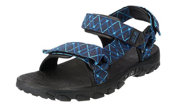 jack wolfskin seven seas outdoor sandalen blau kombi im. Black Bedroom Furniture Sets. Home Design Ideas