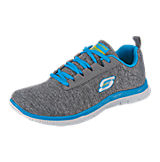 SKECHERS Flex Appeal Next Generation Sneakers grau Modell 1