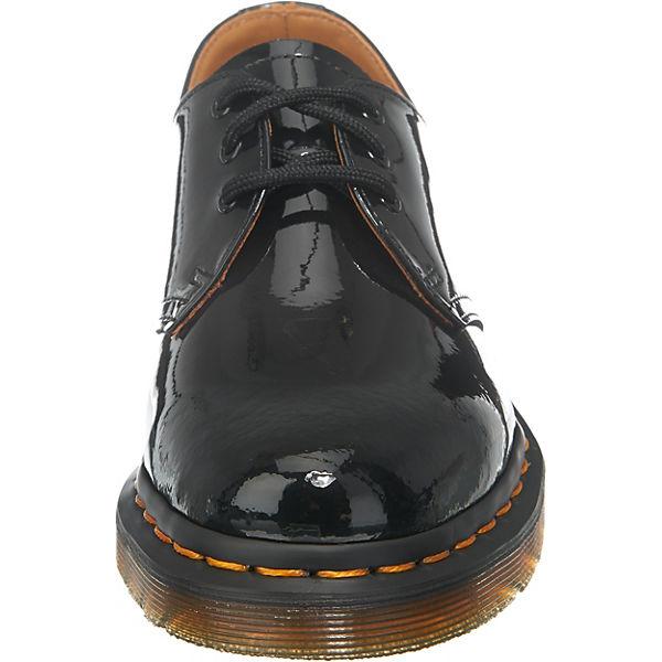 1461 Patent Black Klassische Halbschuhe schwarz