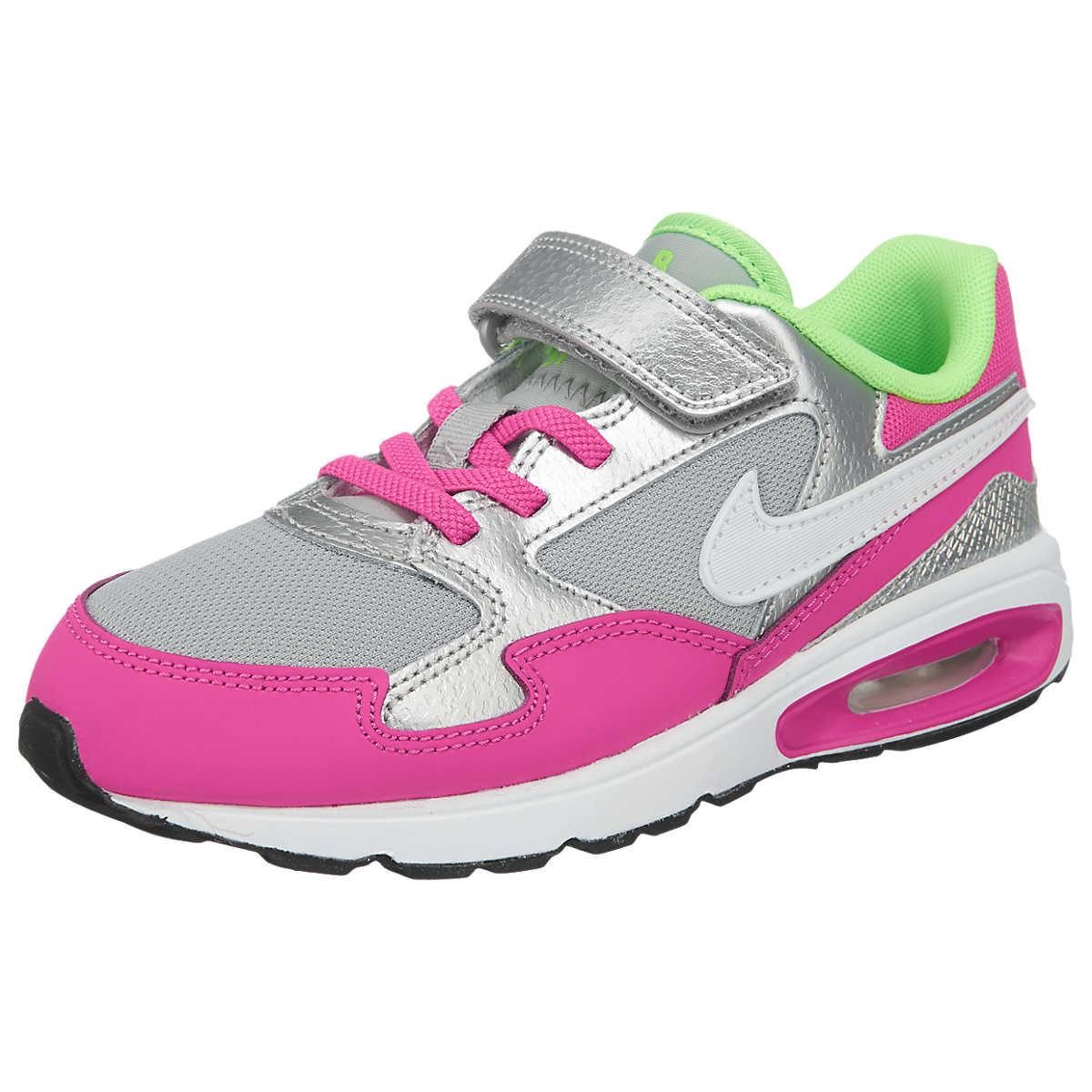 NIKE Air Max St Sneaker für Kinder weiß/pink Mädchen