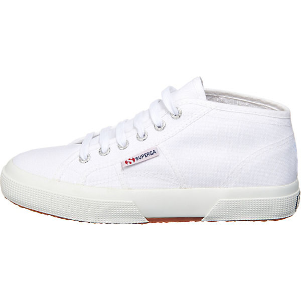 Superga® Cotu Mid Cut Sneakers weiß
