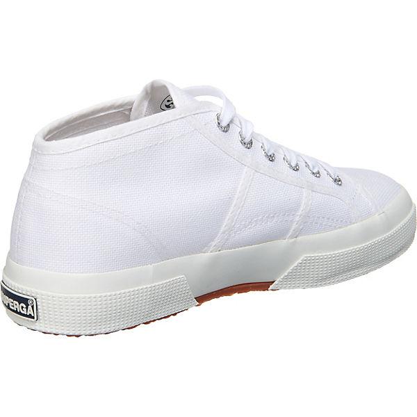 Superga® Cotu Mid Cut Sneakers weiß