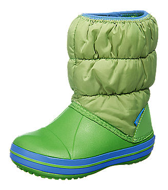 winter puff boot kinder winterstiefel gr n mirapodo. Black Bedroom Furniture Sets. Home Design Ideas