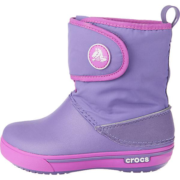 crocs crocband ii 5 gust boot kinder winterstiefel lila mirapodo. Black Bedroom Furniture Sets. Home Design Ideas