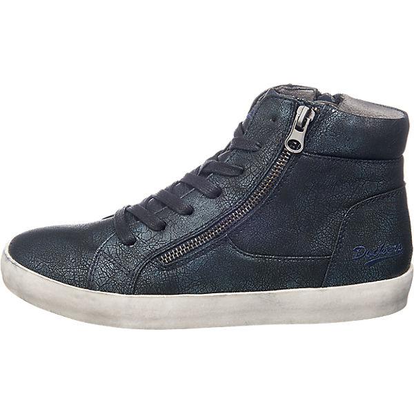 Dockers by Gerli Sneakers schwarz-kombi