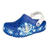 DISNEY DIE EISKÖNIGIN Kinderschuhe Lights Frozen Clog Blinkies blau