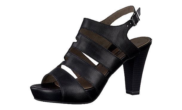 tamaris albury sandaletten schwarz im shop von mirapodo mirapodo. Black Bedroom Furniture Sets. Home Design Ideas