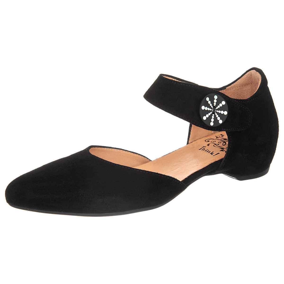 Think! Imma Pumps schwarz - Think! - Ballerinas - Schuhe - mirapodo.de
