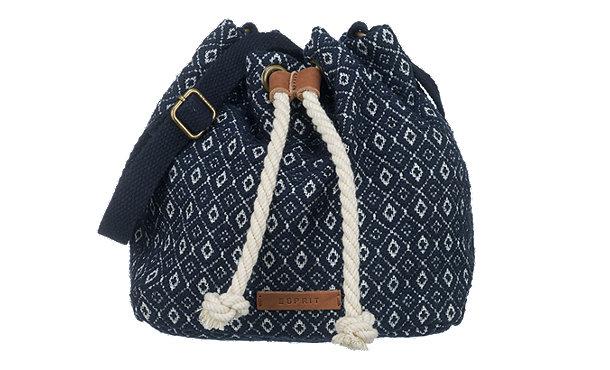 esprit handtaschen blau im shop von mirapodo mirapodo. Black Bedroom Furniture Sets. Home Design Ideas